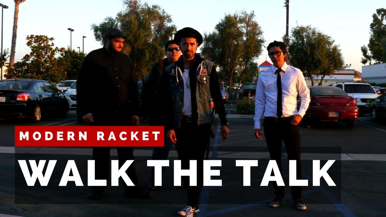 Modern Racket - Walk The Talk [OFFICIAL MUSIC VIDEO]