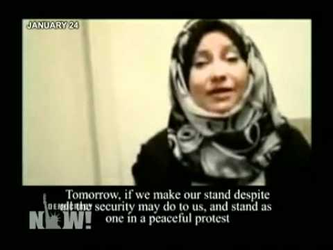 Asmaa Mahfouz & the YouTube Video that Helped Spark the Egyptian Uprising