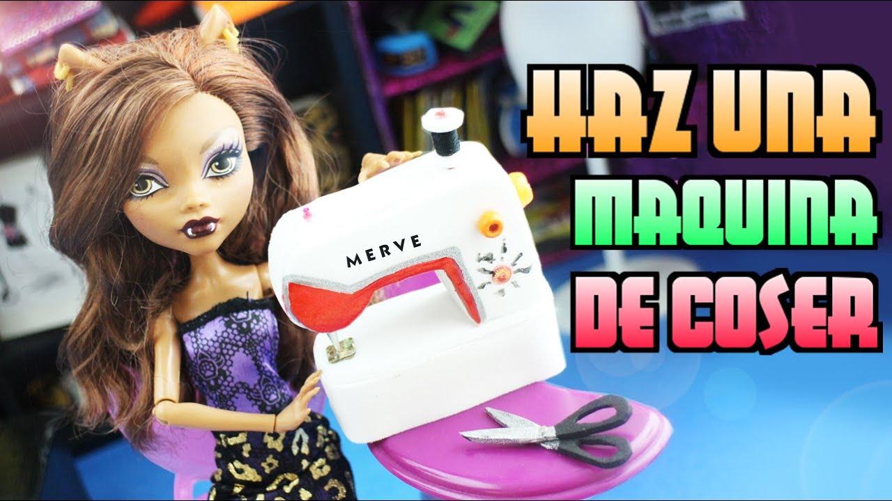 Cómo hacer una Máquina de coser para tus muñecas