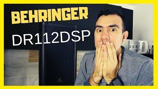 ⚠Behringer DR112DSP Unboxing ⚠| Estilo Dj