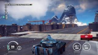 Tank vs base 4 just Cause 3