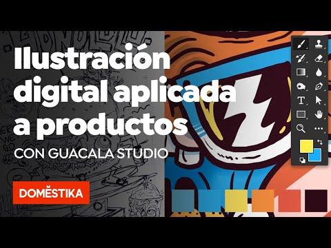 Ilustración digital aplicada a productos – Curso online de Guacala Studio