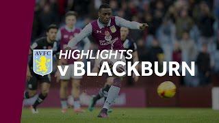 Aston Villa 2-1 Blackburn Rovers | Highlights