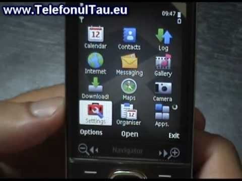 Nokia 6710 Navigator hands on - TelefonulTau.eu