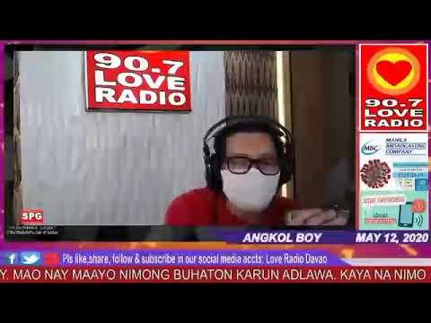 Love Radio Davao FM 90.7 May 12 2020