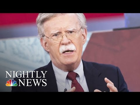President Trump Replaces McMaster With John Bolton As National Security Adviser   NBC Nightly News
