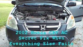 2002 Honda CRV A/C RECALL FIX - NEW - RARELY SEEN TIP