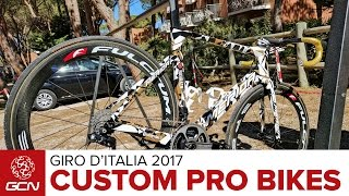 Custom Bikes At The 2017 Giro d'Italia