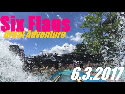 Six Flags Great Adventure Vlog - 6.3.2017