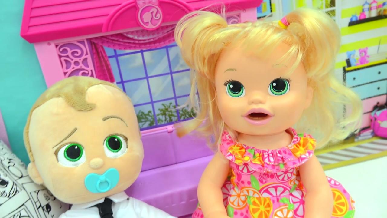 Training Babies Babysitting The Boss Baby Talking Movie