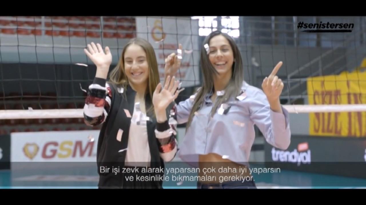 Galatasaraylı Bayanlar Moda Çekiminde