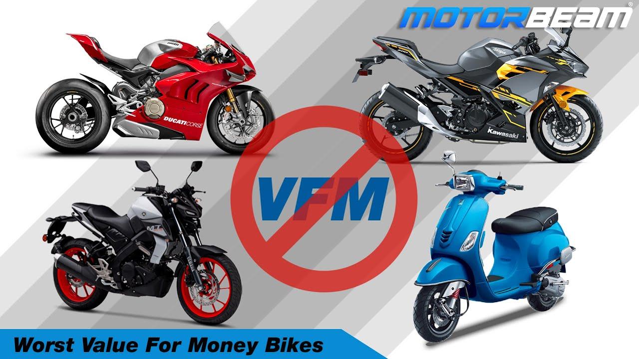 9 Worst Value For Money Bikes In India - Nuksaan Ka Sauda! | MotorBeam हिंदी