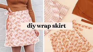 How To Make A Wŗap Skirt - 3 Different Styles! | The Hannah Pattern