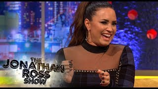 Demi Lovato Says British Men Dirty Talk Properly - The Jonathan Ross Show