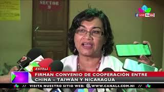 Firman convenio de cooperación entre China Taiwán y Nicaragua en Estelí