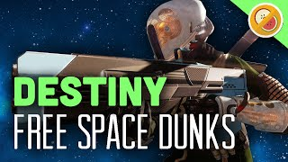 Destiny Free Space Dunks - The Dream Team (The Taken King HYPE)