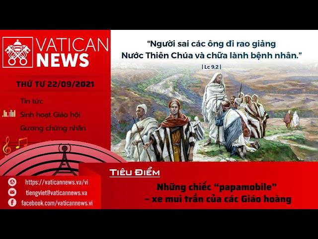 Radio thứ Tư 22/09/2021 - Vatican News Tiếng Việt