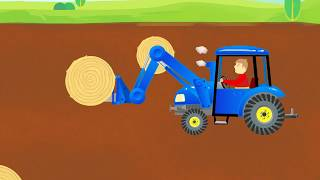 Agricultural Machinery Show for Kids | Uses of Traktor & Other Machines for Children