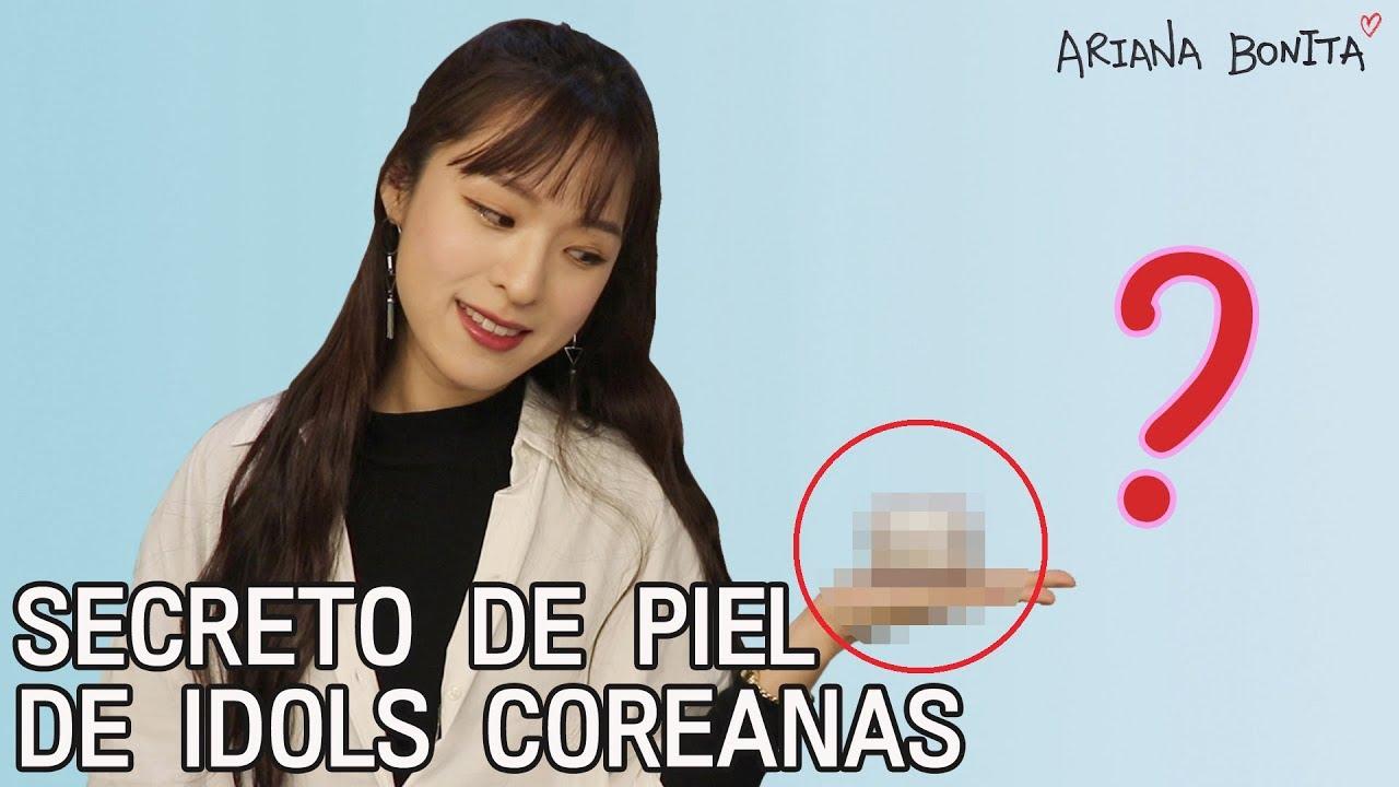 Kor Sub Cómo Blanquean La Piel Los Idols Coreanos Truco De Belleza Ariana Bonita Youtube