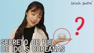 ¿Cómo blanquean la piel los IDOLS COREANOS?  │ Belleza coreana │ Truco coreano
