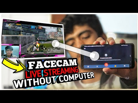 How To Stream Like Professional Streamers With Facecam On Android Like PC.Stream On Youtube In 2020.