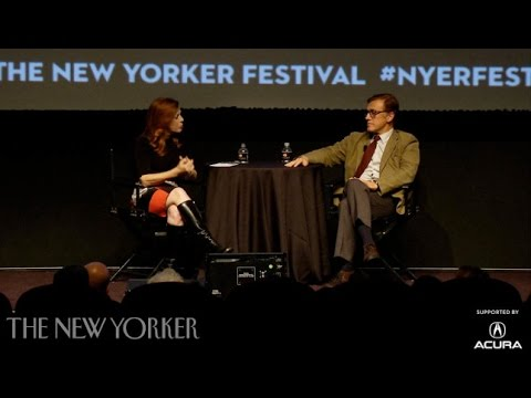 Christoph Waltz discusses working with Quentin Tarantino  The New Yorker Festival  The New Yorker
