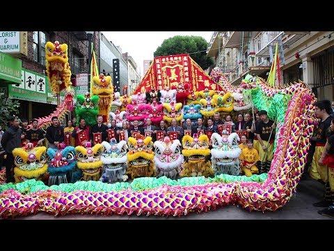Yau Kung Moon USA ~ International Dragon and Lion Dance Day 2018世界龍獅日
