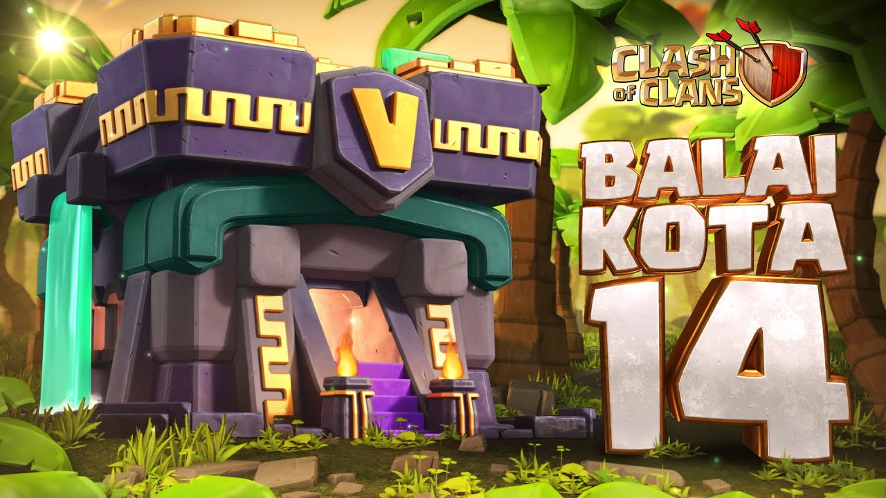 Balai Kota 14 Disini! (Clash of Clans)