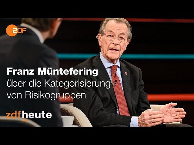 Corona: Diskussion über Risikogruppen   Markus Lanz vom 11. November 2020