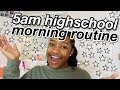5am realistic school morning routine (vlog style)