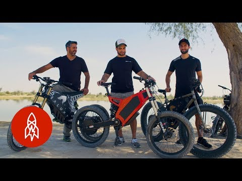 Riding the Dunes in Dubai's Electric Dirt Bikes