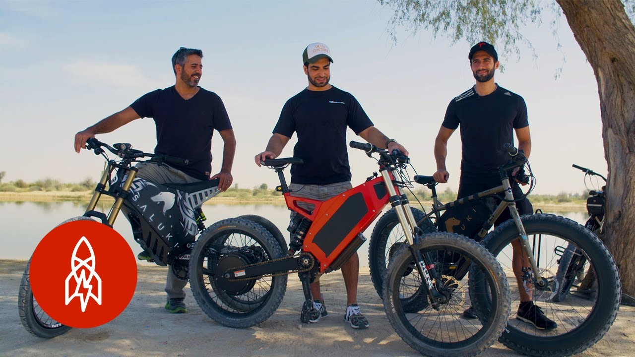 86c44ce33f3 Riding the Dunes in Dubai's Electric Dirt Bikes - YouTube