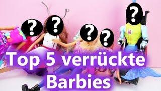 DIE 5 VERRÜCKTESTEN BARBIES | Top 5 der merkwürdigsten Puppen | Vergleich Barbies
