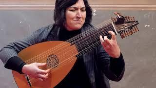 J. S. Bach - Partita in C moll BWV 997 -  Evangelina Mascardi, Liuto barocco