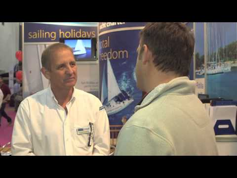 Flotilla tips with Nautilus Yachting at the 2013 Tullet Prebon London Boat Show