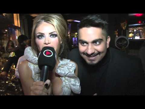 CHLOE SIMS INTERVIEWS UMAR KAMANI (BOOHOO.COM) FOR iFILM LONDON / THE ONLY WAY IS UP BOOK LAUNCH