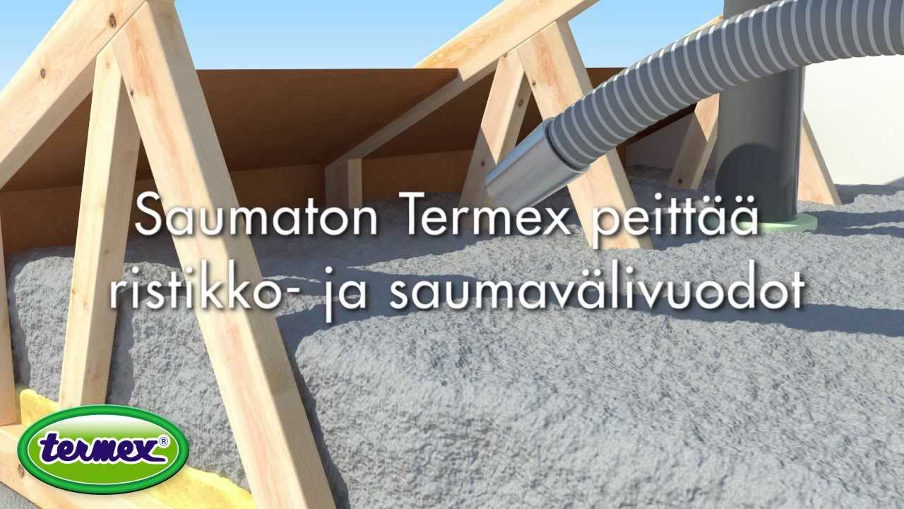 Termex - Selluvillalisäeristys