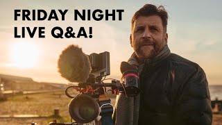 Friday night LIVE Q&A!