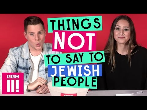 Things Not To Say To Jewish People
