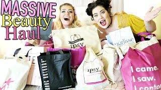 EXTREMELY MASSIVE BEAUTY HAUL | Ipsy Generation Beauty LA