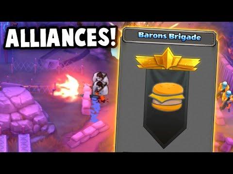 ALLIANCE BATTLES!  (Guns Up! Multiplayer Gameplay)