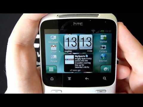 HTC ChaCha v BlackBerry Bold 9700 Software Comparison