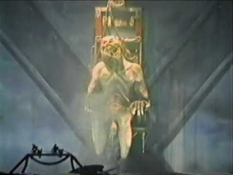 Eddie gets the chair iron maiden live 1996 youtube for Sedia elettrica youtube