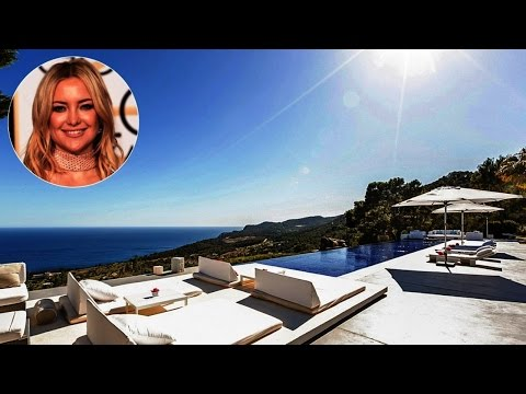 Kate Hudson's $80,000-Per-Week Ibiza Vacation Villa You Can Stay In