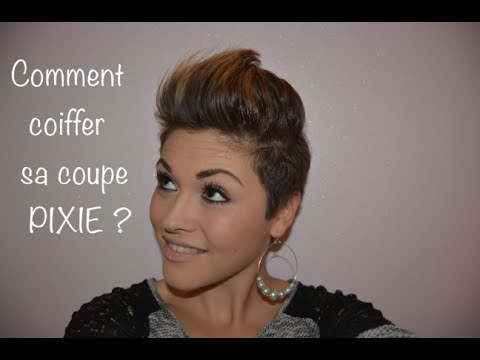 coiffure pixie youtube. Black Bedroom Furniture Sets. Home Design Ideas