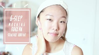 Morning Korean Skincare Routine - Oily , Combination , Acne , Redness ; Best Korean Beauty Products