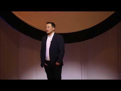 Elon Musk at the IAC 2016