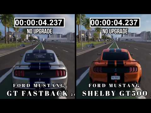 The Crew 2 :Ford Mustang GT Fastback vs Ford Mustang Shelby Gt500 | Which is fast??