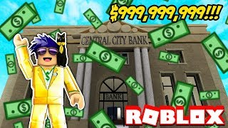 BUILDING THE MOST EXPENSIVE BANK IN ROBLOX! Bank Tycoon