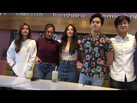ElNella, Maris Racal, Jane Oineza, Yves Flores, Empoy Marquez at Bloody Crayons Digicon 2 | PART 1